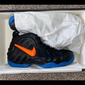 Nike Foamposite Pro Knicks NEW